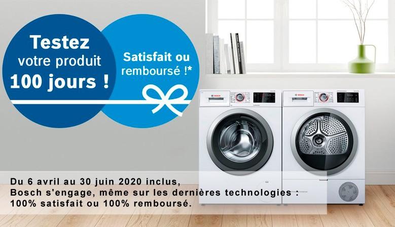 Testez votre produit de lavage pendant 100 jours